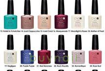 shellac nails colors