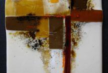 Fusing paintings