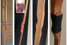 Wood carving bows