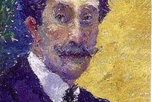 Andres de Santa Maria Hurtado / Artista visual Andrés de Santa María Hurtado, artista plástico nacido en Bogotá el 16 de diciembre de 1860 y fallecido en Bruselas el 29 de abril de 1945. A sus dos años fue llevado a Inglaterra donde pasó su niñez.  Período: Impresionismo