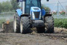 Agrothessaly-agribusiness / land levelling equipment using laser control systems