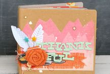 Holidays: Thanksgiving / scrapbook and craft inspiration for Thanksgiving