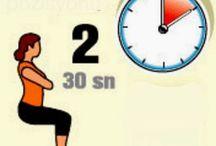 Tüm vücudu çalıştıran egzersizler