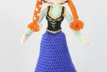 Anna's crochet doll from Disney