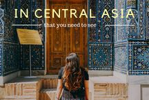 CENTRAL ASIA / CENTRAL ASIA AND TRAVEL IN CENTRAL ASIA