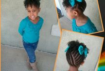 Kids natrual Hair