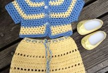 American girl doll knit top and skirt