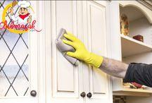 Banyak Cara Untuk Membersihkan Dinding Dapur Dari Noda Berminyak, Cara Membersihkan Dinding Dapur