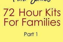 PROJECTS / 72 hour kits, family history, crafts. etc. / by Amanda Godfrey