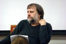 Slavoj Žižek / The Slovene philosopher and cultural critic!