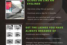Luscious Lashes / Lash Growth Serums, Fake Lashes and Mascaras for Beautiful Eyes