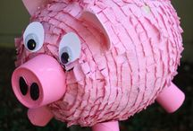 Pink piggy party