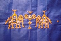Embroidery - Indian - Kasuti Patterns / by Maya Heath