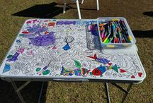 doodle craft table