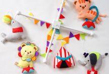 Baby Violet Nursery - Circus