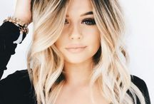 Ombre blonde type