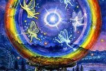 Rainbow / Rainbows / by Morgan Moonchild