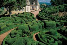 Dordogne, Aquitane, France / The Dordogne department in the Aquitaine region of France.