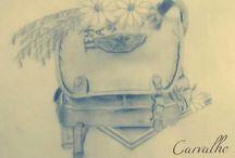 Desenhos / Amo o que faço