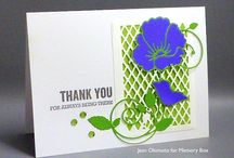 Distressed baptisia and windham cards