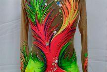 #Rhythmics gymnastics dress