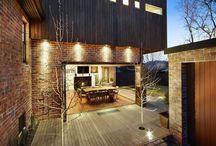 Home entertainment areas (outdoor)