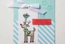 Santa Gifts stamping up