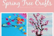 spring arts and crafts for kids