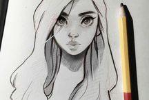 Female sketch