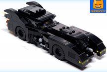 Custom Lego Batman Models