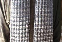 tricô e crochê