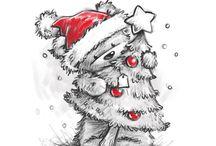 Christmas Noël / J'aime beaucoup cette belle période de l'année pleine de beauté et de paix