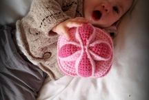 crochet baby toy rattle