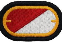 U.S.ARMY Cavalry- Chemical PATCH FLASH-OVAL