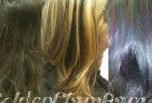 my hair creations. follow me on instgram:goldenglambam / hair color, haircuts, make up.