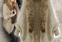 knitted capes_jackets