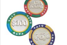 Chocolate Casino Chips / Finest quality chocolate casino chips.