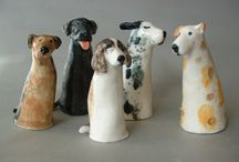 Clay dogs