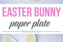 Paperplate bunny