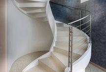 Etiquetado escaleras de caracol