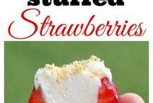 Stuffed strawberries