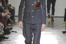 Denim Catwalk / Denim trends from fashion weeks from Milan to london and New York