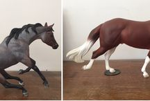 Resin Model horses / Some of my models for sale