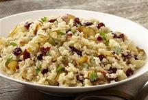 Quinoa, Couscous, & Rice / by Christina Arthur