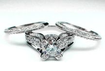 Oh no, I lost my rings.  / Looking for ideas for a new bridal set.  / by Heather Walker