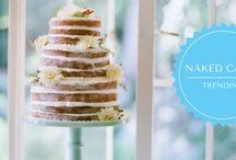 Naked Wedding Cakes / Naked wedding cakes at Cakes Inc. http://cakes-inc.com/trending-bare-naked-cakes/