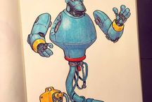 Robot disney