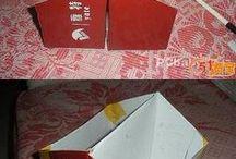 adornos de cartón