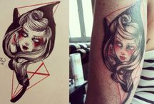 Lucrezia U's Tattoes / Apprentice tattoo... since 2013  /to get inked with my designs send me a mail -> lucreziau@gmail.com