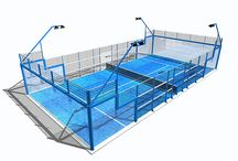 Types of padel courts / These are the models courts we deliver and install.